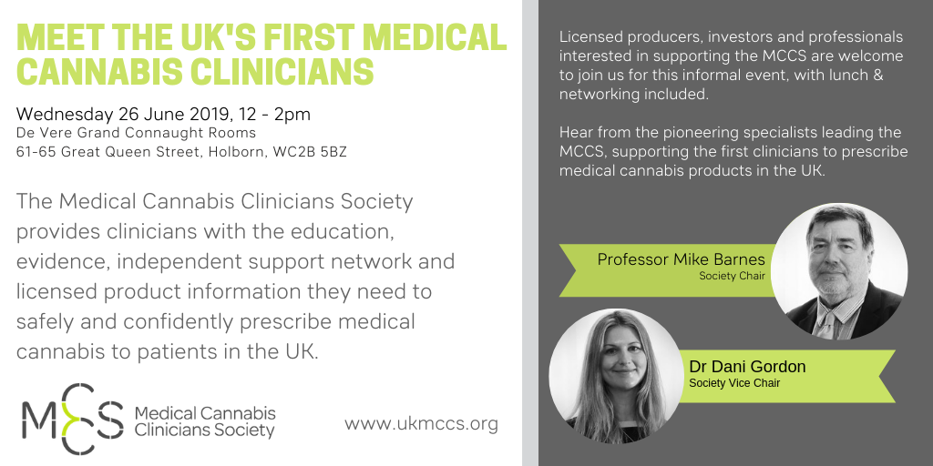 Meet the UK's first medical cannabis clinicians during European cannabis week
