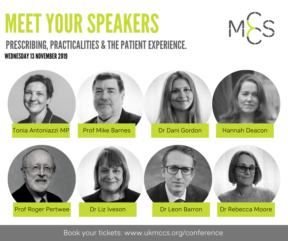 New Speakers Announced: Prescribing, Practicalities & The Patient Experience