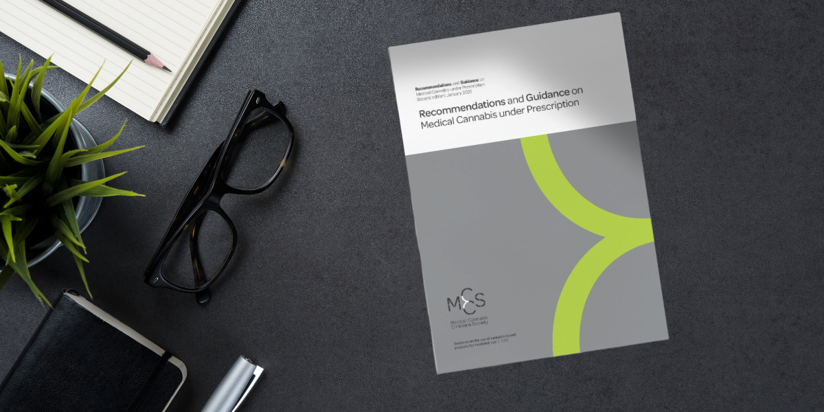Society publishes updated guidelines: Recommendations and Guidance on Medical Cannabis under Prescription 2020