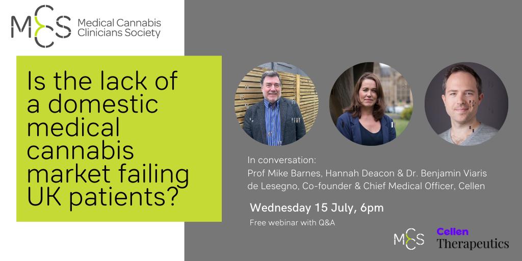 Webinar: Is the lack of a domestic medical cannabis market failing UK patients?