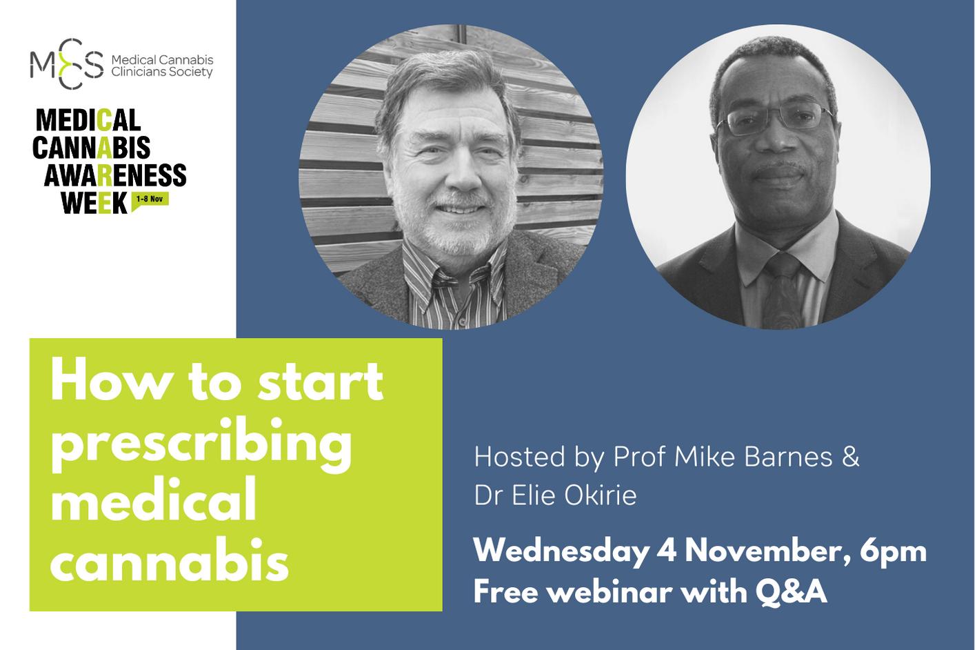 Webinar: How to Start Prescribing Medical Cannabis