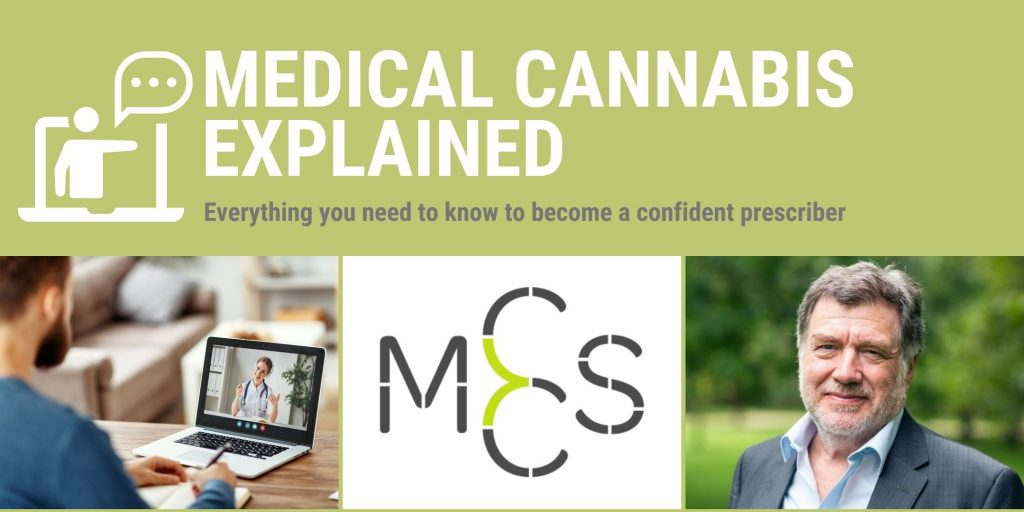 Live, online training for Doctors with the Medical Cannabis Clinicians Society