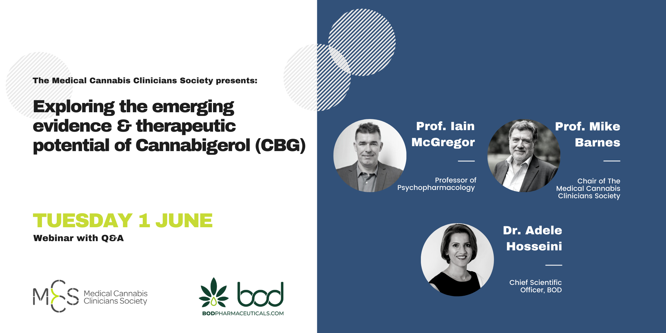 Exploring the emerging evidence & therapeutic potential of Cannabigerol (CBG)