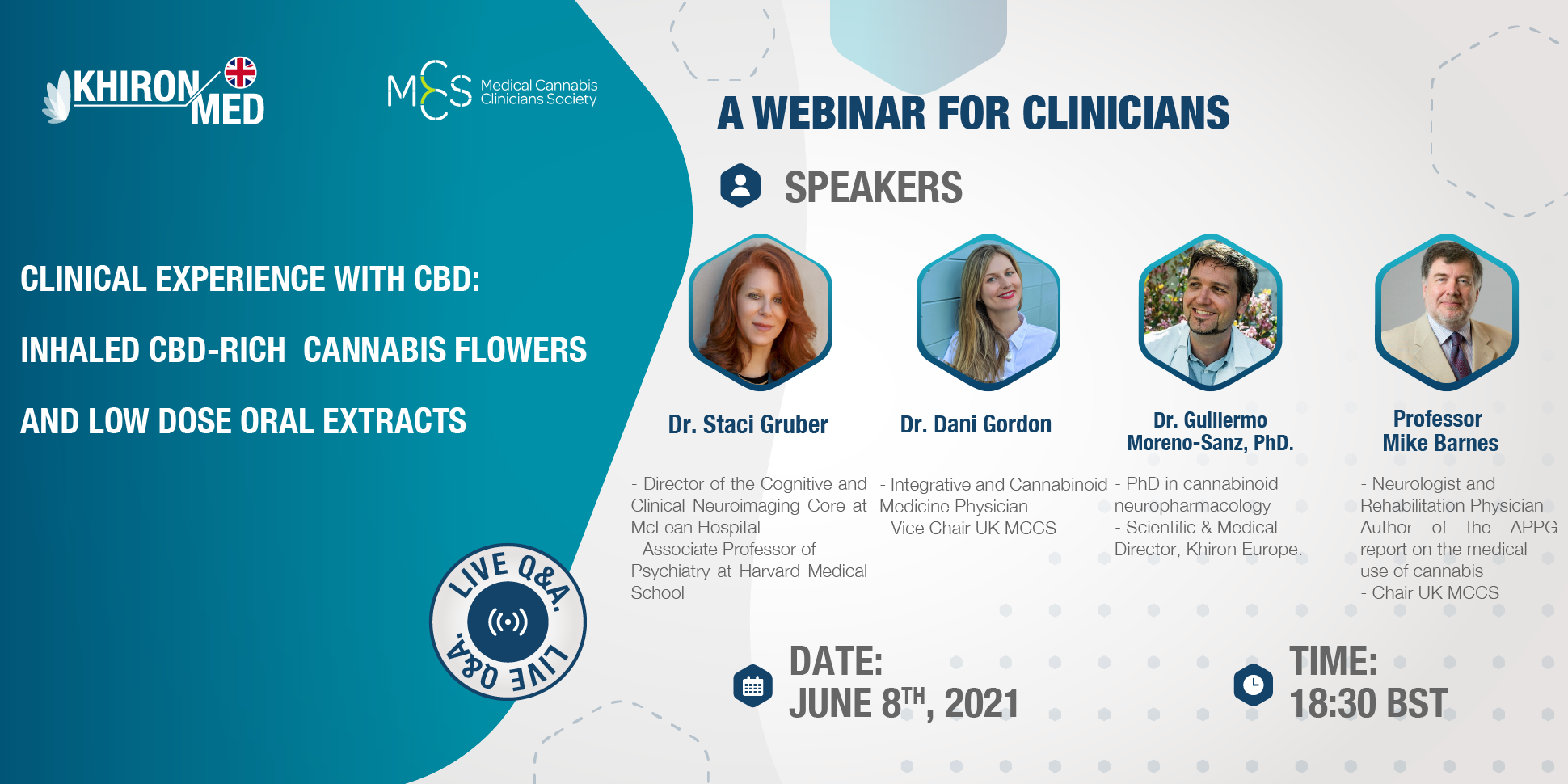 Clinical experience with CBD: dried flower and oral extracts