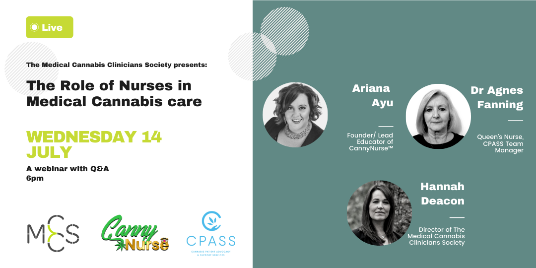 The Role of Nurses in Medical Cannabis care